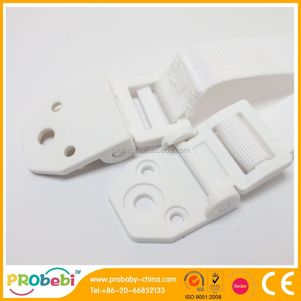 Baby Kid Safety Anti-tip plastic Tv Strap For Wall Furniture