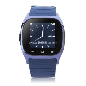 Cheap1.4inch TFT touch screen M26 smart watch with support 16G TF card