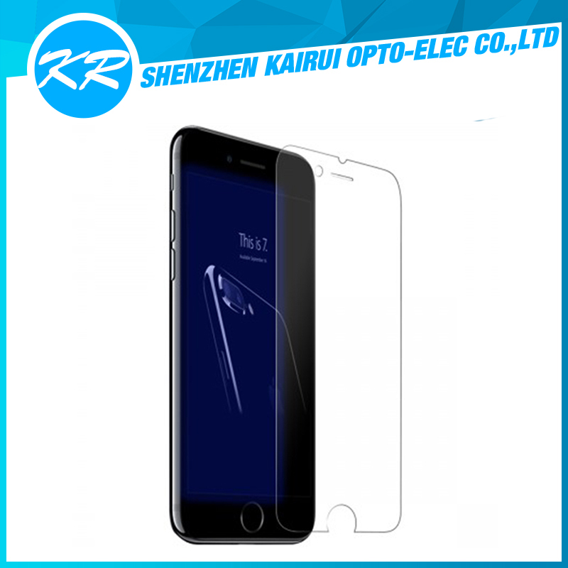 New born cell phone tempered glass screen protector for iPhone7 ,mobile accessories tempered glass screen protector