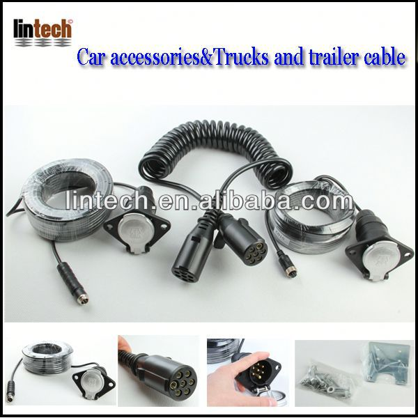 waterproof trailer cable/ galvanised electric boat trailer winch