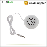 wireless speaker Mini White 3.5mm Pillow Speaker Earphone Headphone for Sleeping for MP3 MP4 Player for iPod Hot New
