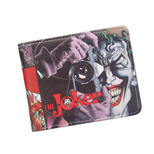 Hot Product 2017 Anime Wallets The Joker Funny Comics Character Joker With Camera Men Wallet Suicide Squad Harley Quinn Wallet