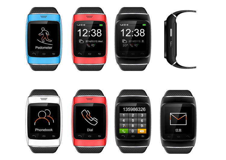 S12 Hot Sale China Bluetooth Smart Watch Mobile Phone With QWERTY Keybrand