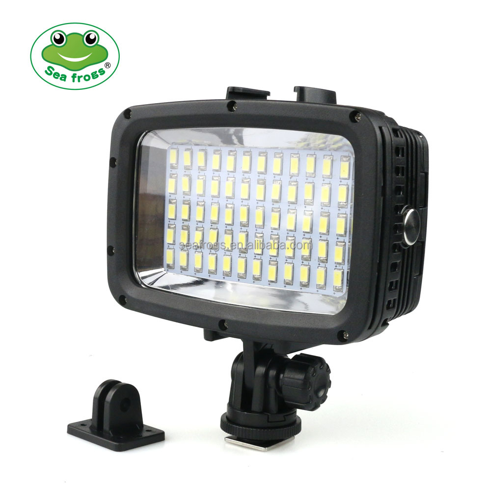 Seafrogs Wholesale 60 LED Video Lamp Light 40M Underwater Photography light for gorpro , canon , nikon ,sony camera