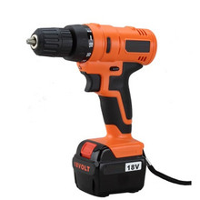 Free Shipping Best Selling 2017 in USA Electrical Tools Set Power Tools Screwdriver 18V Cordless Power Tools <strong>Drill</strong> for Household