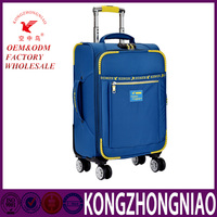 Fashion Design Travel Luggage / Kongzhongniao hot sales leather suitcase/ trolley bag for women and men