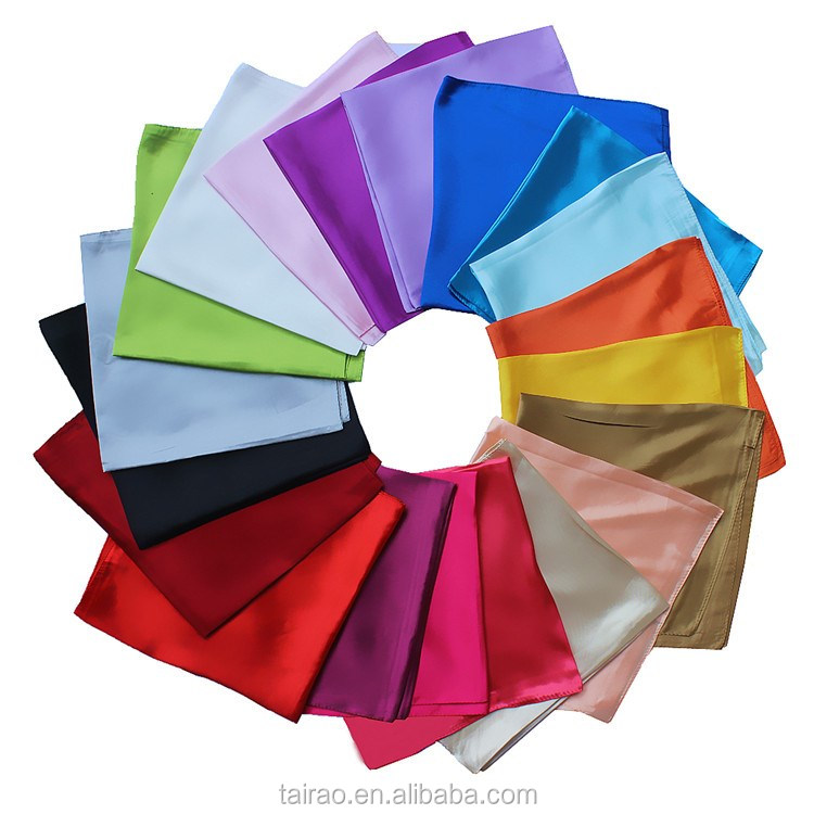Pure color silk scarf,Plain silk collar scarf for wholesale office lady scarf bandana style