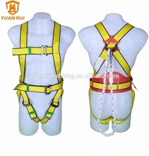 YuanRui YR-QS008 polyester webbing for <strong>safety</strong> belt with lanyard Roofing <strong>safety</strong> harness