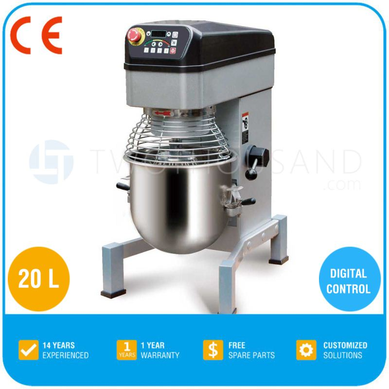 Food Mixer Machine - Automatic Four Speed Professional Food mixer BD20