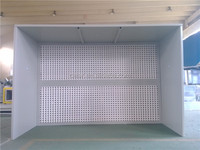 induatrial paint booth/open face dry type spray booth