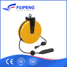 FP-675 electric extension cord mini retractable cable reel