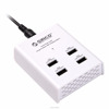 High quality 5V 6A 4 port move power charger for iPhone, iPad and Samsung Galaxy