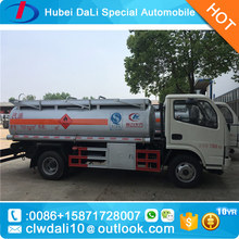 Mobile Fuel Tank Truck Used Oil Tankers Truck for Sale
