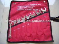 Raised Panel Design Double Open End Wrench 1000 pc Hand Tools