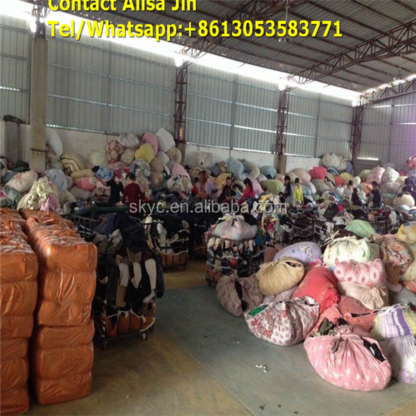 Second used clothing mixed second hand clothing cambodia