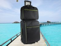 Leisure 2 Pieces Set Trolley Luggage Bag