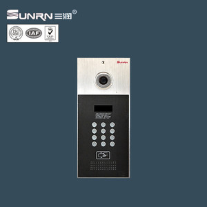 Hd Free Color Intercom Wired Video Door Phone for Multi Apartment Buildings