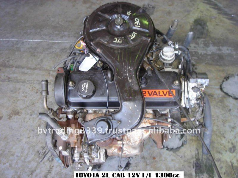 TOYOTA 2E - FF AT CARB