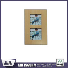 French Style Photo Frame Wood Tabletop Wood Photo Frame Stand Home Decoration Custom Picture Frame