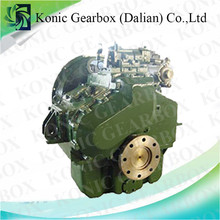 Serviceable small boat transmission for marine engine