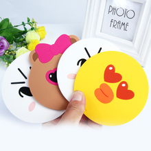 Creative cartoon silicone insulation pad cute little yellow duck non-slip bowl pad tray fashion mats
