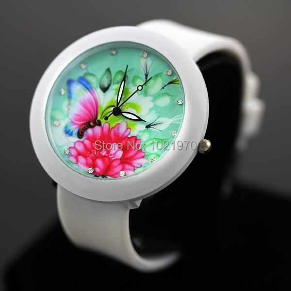 sloggi More design casual watch woman and girl quartz watch silicone watch women dress watches