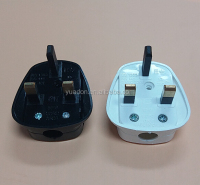 Black Quickfit 3 Pin 13 A UK Plug