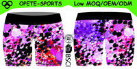 (OEM ODM FACTORY)Fashion Comfortable sports sublimation custom compression tights