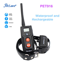 Waterproof and Rechargeable Shock Collar Remote Dog Training Collar