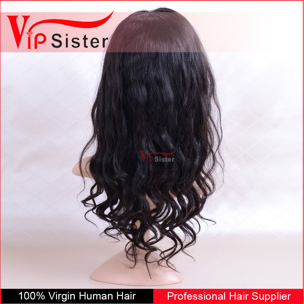 180% Density full Top Quality 24inch Body Wavy Human Hair full lace wigs