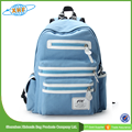 Latest Design High School Student Canvas School Backpack
