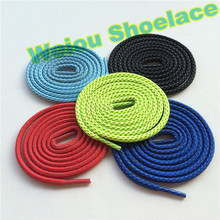 Weiou gold shoe lace custom laces sneakers jordan rope laces