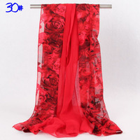 Women Winter Scarf silk Wraps Large Long Shawl Imitation Lady Solid color Scarves