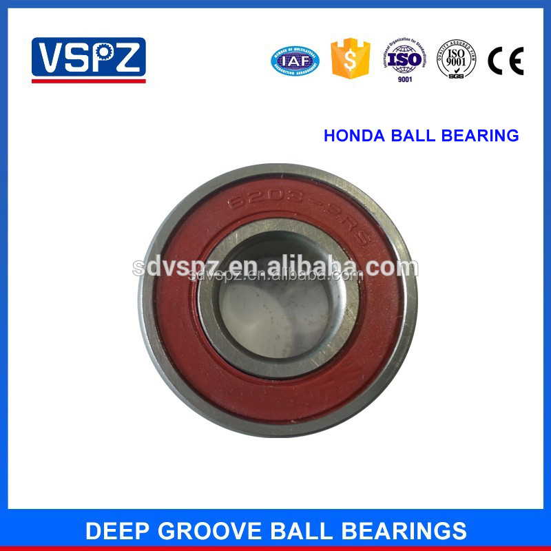 High speed Motorcycle ball bearing 6300 750300 300 Open ZZ 2RS 10*35*11 mm for front wheel
