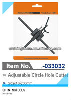 Adjustable circle hole cutter