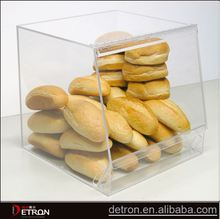 Bread acrylic clear display stands