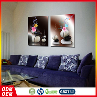 unique vase photo wall painting canvas flower wall art picture