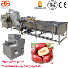 Factory Supply Red Dates Cleaning Machine Processing Line