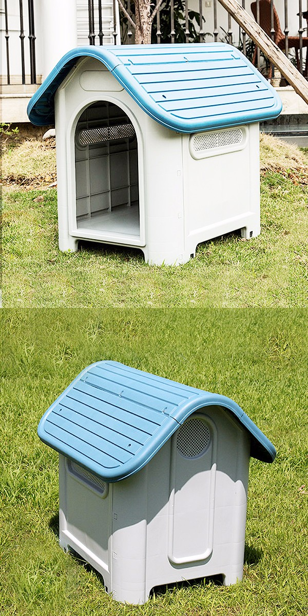 Easy Assembly Indoor Dog Cage Premium Plastic Dog House