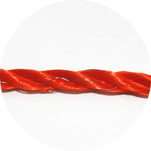 electric fence rope with electric fence wire for temporary fence