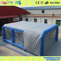 China Supplier Inflatable Car Painting Spray Booth for Sale
