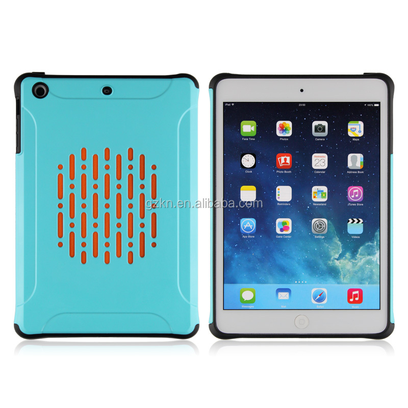 Factory direct stylish slim armor case for iPad mini drop defender function