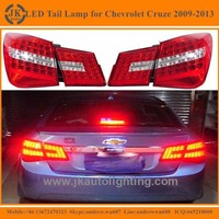 High Quality MercedesBenz Style LED Tail Lights for Chevrolet Cruze Hot Selling Red LED Tail Lamp for Chevrolet Cruze 2009-2013