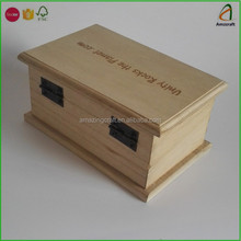Small Wooden Rock Stone Display Boxes for Trade Show