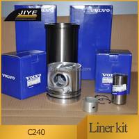 Fit for EC240 engine parts engine cylinder liner kit