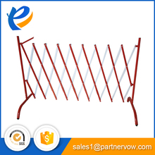 Expandable used highway steel safety road barrier