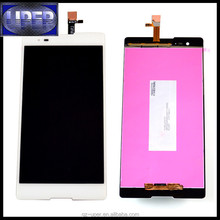 Black White LCD For Sony Xperia T2 Ultra D5303 D5306 XM50h LCD Display Touch Screen Glass Digitizer Assembly
