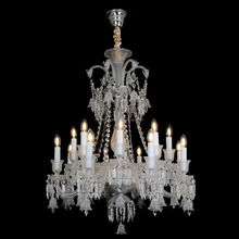16 Light Bohemia Crystal Chandelier with K9 Crystal