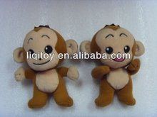 Cute stuffed soft plush toy mini monkey