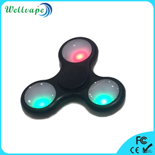 In stock high quality 608 bearing LED light adult hand spinner fidget toy